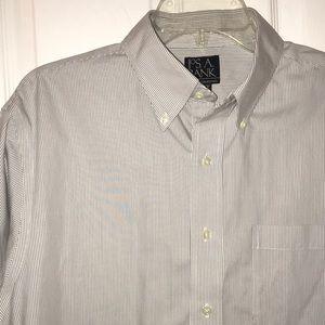 Jos A Bank Classic Striped Shirt